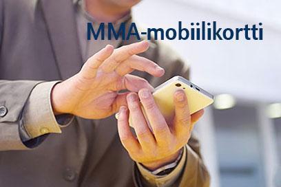 MMA-mobiilikortti