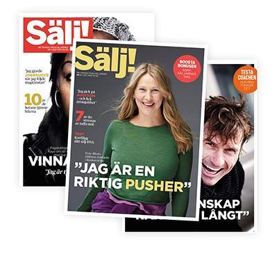 /></p>  <p>Sälj! on ainoa ruotsalainen lehti, joka keskittyy myynnin ja markkinoinnin ilmiöihin ja ihmisiin. Lehteä kustantaa MMA:n sisarjärjestö Säljarnas.</p>  <p>MMA:n jäsenet voivat tilata ruotsinkielisen Sälj! -lehden vuosikerran vain kymmenellä eurolla (normaalihinta 35 euroa). Lehti ilmestyy kuusi kertaa vuodessa.</p>  <p>Lehti on tilattavissa täältä: <a href=